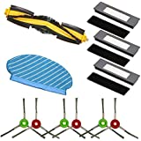SODIAL for Deebot Ozmo 920 950 Filter Side Brush Kit Vacuum Cleaner Accessories for Deebot Ozmo 920 950