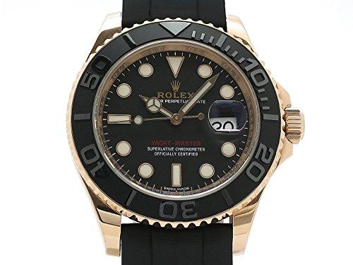 (ロレックス) ROLEX 腕時計 ヨットマスター メンズ時計 メーカー保証期間中 116655(ランダム) K18RG/ラバー 中古
