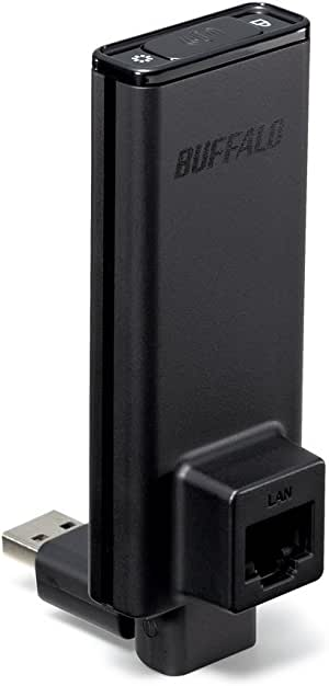 BUFFALO 11n/a/g/b 300Mbps 簡単無線LAN子機 WLI-UTX-AG300/C