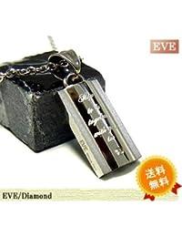 [イヴ]EVE ダイヤモンドネックレス ユニセックス ステンレスネックレス/ピンクゴールド