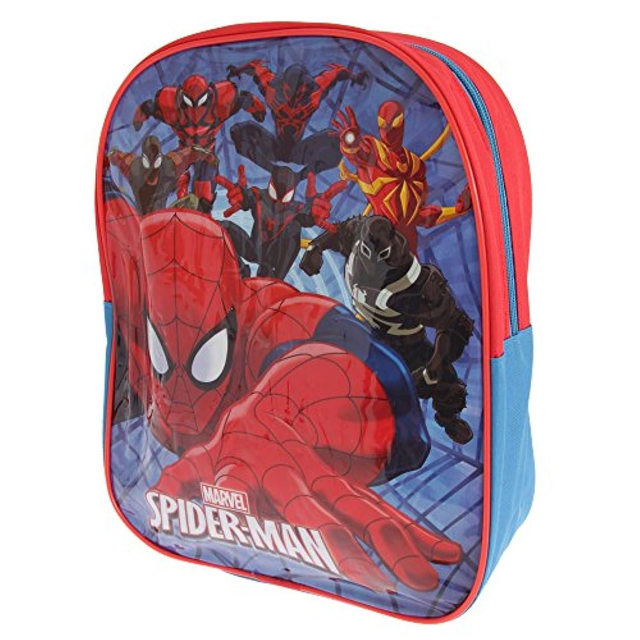 獲物太字天気(スパイダーマン) Spiderman キッズ?子ども ラックサック リュックサック かばん