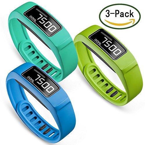 [해외]Garmin vivofit 2 밴드 가민 방식 밴드 vivofit 2 교환 용 손목 밴드 Large | Small SKYLET 13 색상 선택 가능/Garmin vivofit 2 band garmin replacement band vivofit 2 Replacement wristband Large | Small SKYLET 13 color selectable
