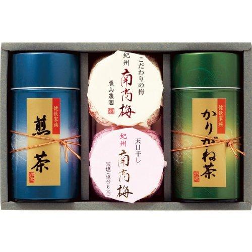 紀州南高梅・静岡銘茶詰合せ UMN-30