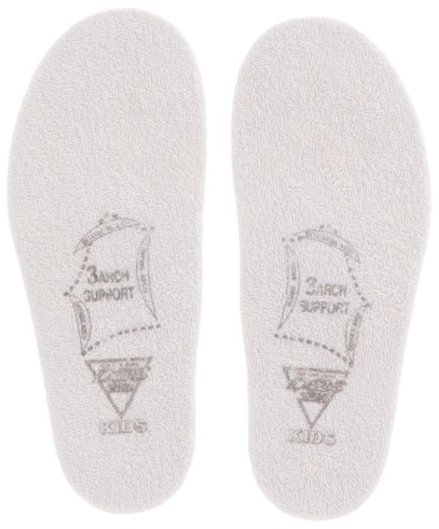 靴ウミウシ賛辞SORBO DSISソルボキッズ フルインソールタイプ グレー 16cm