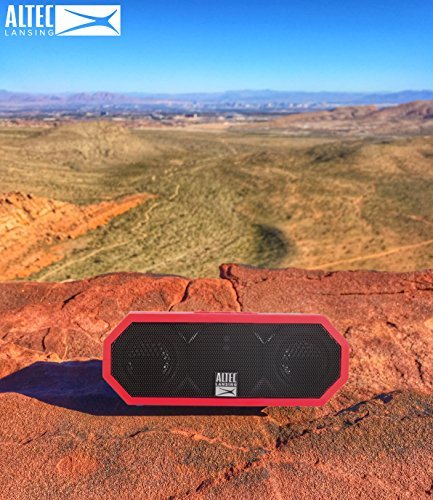 Altec Lansing IMW448-DR Jacket H20 3 Speaker - Bluetooth Speaker, Red [並行輸入品]