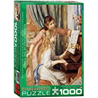 1000ピース ジグソーパズル ユーログラフィックス ピアノの女の子 6000-2215