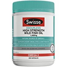 Swisse Ultiboost High Strength Odrls Wild Fish Oil 1500Mg 200 Capsules
