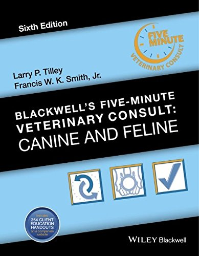 Download Blackwell's Five-Minute Veterinary Consult: Canine and Feline 1118881575