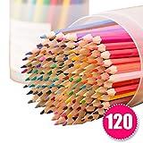 120色セット色鉛筆 FIVE STAR 色鉛筆 120色 彩り 塗り絵 スケッチ用 アート鉛筆 プレゼント用 浅くプラスチックの容器入り