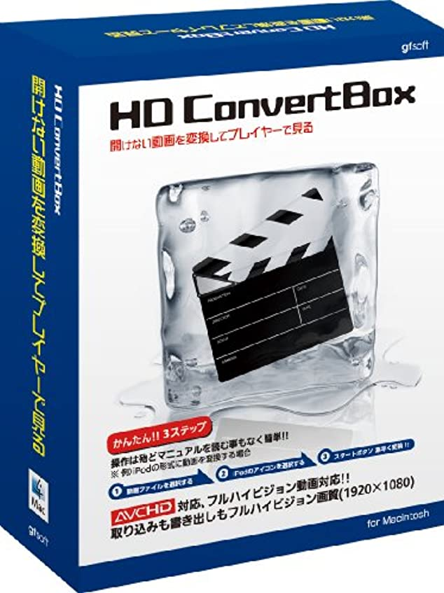 全部後継延期するHD Convert BOX Mac版