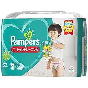 パンパース オムツ パンツ 卒業パンツ ビッグ(12~22kg) 32枚
