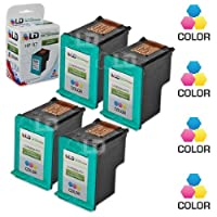 LD ? Remanufactured Replacement Ink Cartridges for Hewlett Packard C9363WN (HP 97) Tri-Color (4 Pack) [並行輸入品]
