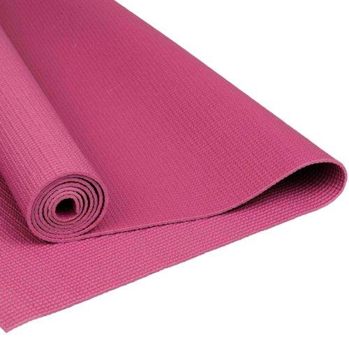 [해외]La-VIE (라비) 요가 매트 두께 3mm 자두 어깨 걸이 밴드와 교육 매트/La-VIE (Ravi) Yoga mat 3 mm thick Plum shoulder band fitted mat