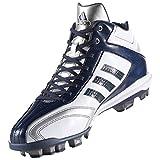 アディダス(adidas) アディピュアT3 MID ポイント(クリスタルホワイト/カレッジネイビー/クリスタルホワイト) AQ8360 Cホワイト/Cネイビー/Cホワイト 27.0cm