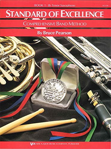 Download Standard of Excellence (Tenor Saxophone) Book 1: Comprehensive Band Method 0849759331