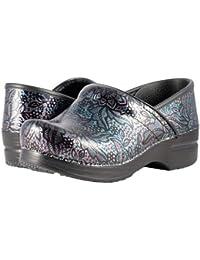 (ダンスコ) Dansko レディースクロッグズ?ミュール?スライド?靴 Professional Henna Floral Patent US Women's 8.5-9 24.5-25cm Regular [並行輸入品]