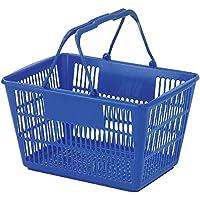 ショッピングバスケット U-17 ブルー/62-6380-30