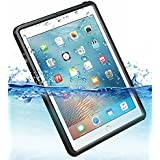 iPad pro 9.7インチ Air2 完全 防水ケース 耐震 防雪 防塵 耐衝撃 カバー 全面保護 IP68防水規格 アイパッドケース アイパッドカバー 防水カバー 耐衝撃カバー 薄型 iPadPro9.7 iPadAir2 アイパッド ストラップ付き お風呂 アウトドア (iPad Pro 9.7インチ/Air2用)