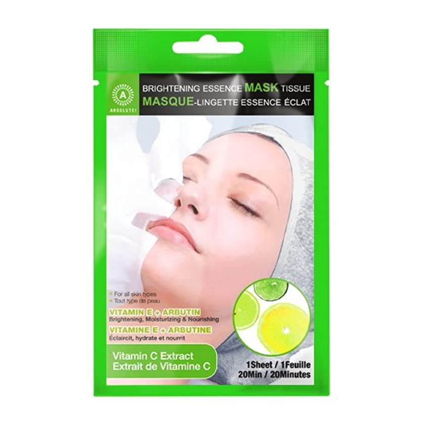 座る家庭教師印象(6 Pack) ABSOLUTE Brightening Essence Mask - Vitamin C (並行輸入品)