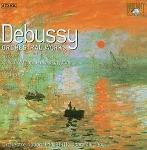 ドビュッシー:管弦楽曲全集(4枚組)/Debussy: Orchestral Works