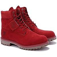 [ティンバーランド] 6inch PREMIUM BOOTS RED (a1149)