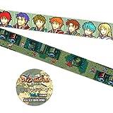 ファイアーエムブレム 烈火の剣 Vol.1 マスキングテープ 2種セット、各種1個