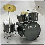 TAMA 装飾のためのミニチュアドラムセット