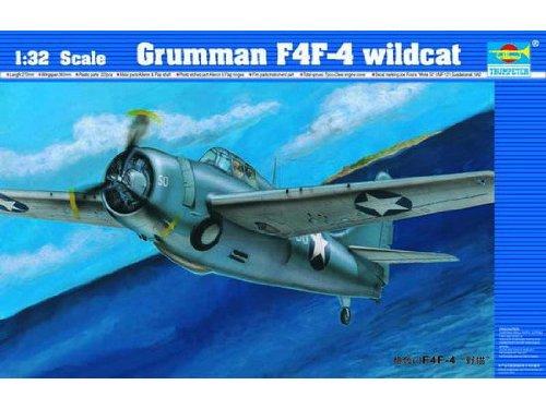 1/32 米海軍 グラマン F4F-4 ワイルドキャット