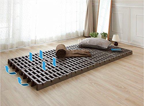 ベッド ベット ふとん下すのこ8個セット シングルサイズ 日本製 押入れ マット ベット カビ 湿気