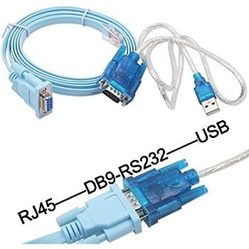 Amazon Cisco Router Cisco Console Cable Rj 45 Db 9 シリアル