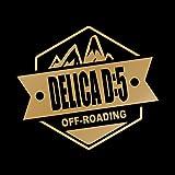 OFF ROADING DELICA D5 デリカD5 カッティング ステッカー ゴールド 金