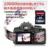 Transcend 32GB SDHCカード TS32GSDHC10_02