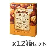 クオカ(cuoca) プレミアム食パンミックス 贅沢ブリオッシュ (お得12個セット)