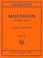 GLAZUNOV - Meditacion Op.32 en Re Mayor para Violoncello y Piano (Jee)