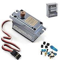 Protek RC 160t低プロファイルデジタル「高トルク」メタルギアサーボ(高電圧/メタルケース)
