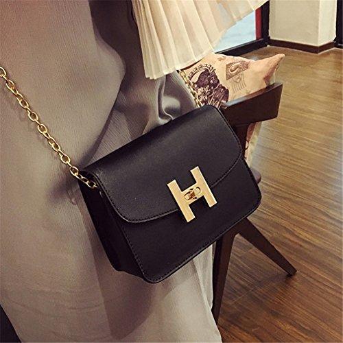 新しいトレンドレディースハンドバッグ、ファッションシンプルフラップ、レトロ韓国語バージョンショルダーバッグ,チェーン女性メッセンジャーバッグ。