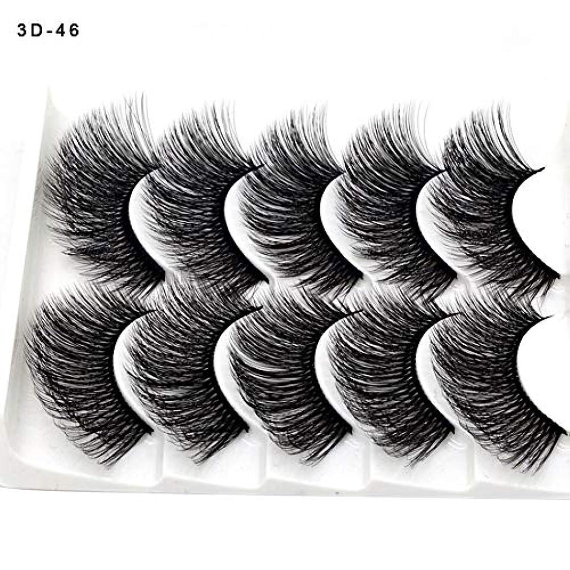 適性局にもかかわらずSILUN つけまつげ 5ペア つけまつ毛 3D 上まつげ 100%手作り 自然 濃密 メイクアップ ナチュラル 長持ち ピュアナチュラル まつげエクステ ふんわり 大人気