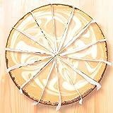 築地の王様 ニューヨークチーズケーキ カプチーノ ホール910g 14カット 直径約20cm NYチーズケーキ 冷凍スイーツ 冷凍デザート 冷凍ケーキ