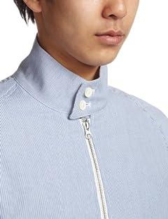 Cotton Linen Cordlane G4 Blouson 13011300603820: Blue