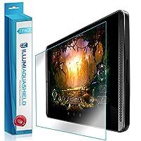 NVIDIA SHIELDタブレットk1スクリーンプロテクター2パック、Illumi Aquashieldフルカバースクリーンプロテクターfor Nvidia Shield Tablet k1HDクリア気泡防止フィルム