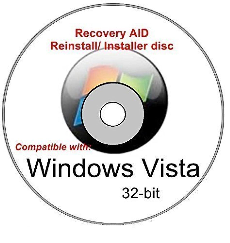 考案する落ち着かないポスターWindows Vista Ultimate 32-bit New Full Re install Operating System Boot Disc - Repair Restore Recover DVD
