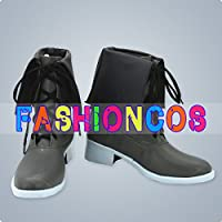 ★サイズ選択可★女性24CM UA1319 東方Project レミリア・スカーレット コスプレ靴 ブーツ