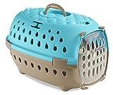 【イタリアStefanplast】イタリアステファンプラスト社製キャリーバッグ トランスポートトラベルチックブルー