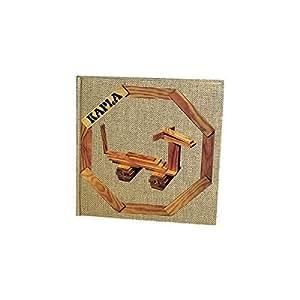 【KAPLA(カプラ)・デザインブック 第4巻 簡単で楽しい動物(茶)初級】