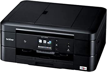 ブラザー プリンター A4 インクジェット複合機 DCP-J978N-B (黒モデル/ADF/有線・無線LAN/手差しトレイ/両面印刷/レーベル印刷)