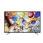 TCL  43V型 液晶 テレビ  43D2900F フルハイビジョン 裏録画/3波対応