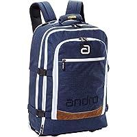 andro(アンドロ) 卓球 バッグ サルタ トローリー バックパック 402237 ネイビー×ホワイト