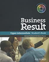 Business Result Upper Intermediate Student Book Pack and DVD-ROM