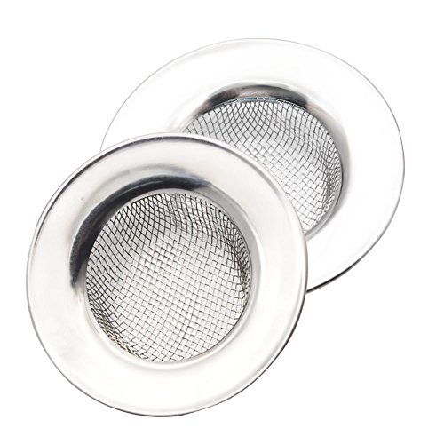 洗面台 排水溝 ゴミ受け シンクストレーナー シンクストッパー 台所ストレーナー 排水口フィルター 排水口サイズ:3.5cm 2個セット