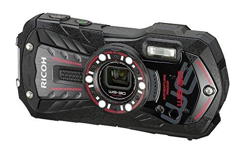 RICOH 防水デジタルカメラ RICOH WG-30 エボニーブラック 防水12m耐ショック1.5m耐寒-10度 RICOH WG-30 BK 04591